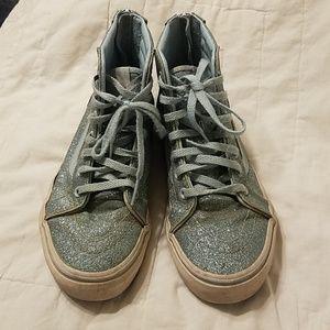 Kids glitter Vans